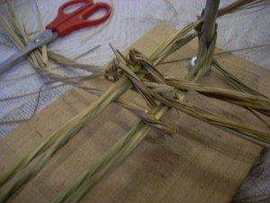 La fabrication des coussins d'attelage  ou pieumets 10