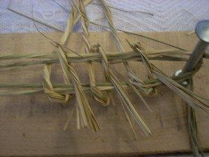 La fabrication des coussins d'attelage  ou pieumets 11