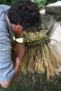 La fabrication des coussins d'attelage  ou pieumets 15