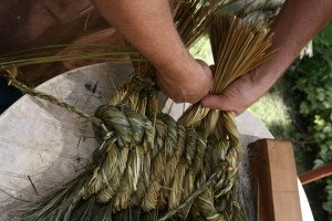 La fabrication des coussins d'attelage  ou pieumets 16