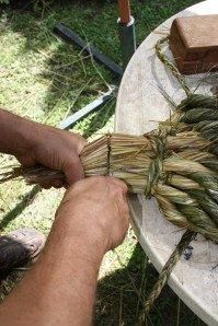 La fabrication des coussins d'attelage  ou pieumets 18