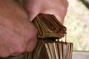 La fabrication des coussins d'attelage  ou pieumets 19