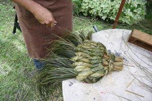 La fabrication des coussins d'attelage  ou pieumets 20