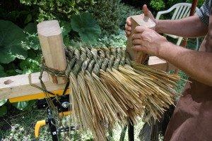 La fabrication des coussins d'attelage  ou pieumets 22