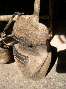 La fabrication des coussins d'attelage  ou pieumets 3