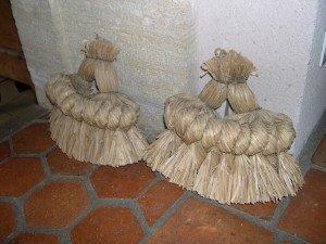 La fabrication des coussins d'attelage  ou pieumets 4