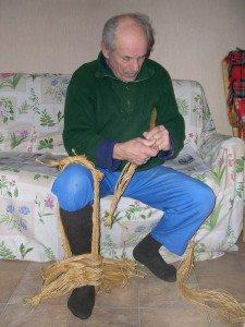La fabrication des coussins d'attelage  ou pieumets 6