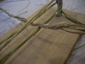 La fabrication des coussins d'attelage  ou pieumets 7