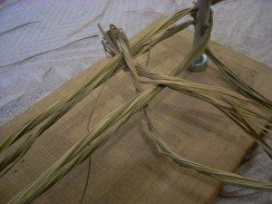 La fabrication des coussins d'attelage  ou pieumets 8