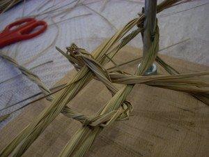 La fabrication des coussins d'attelage  ou pieumets 9